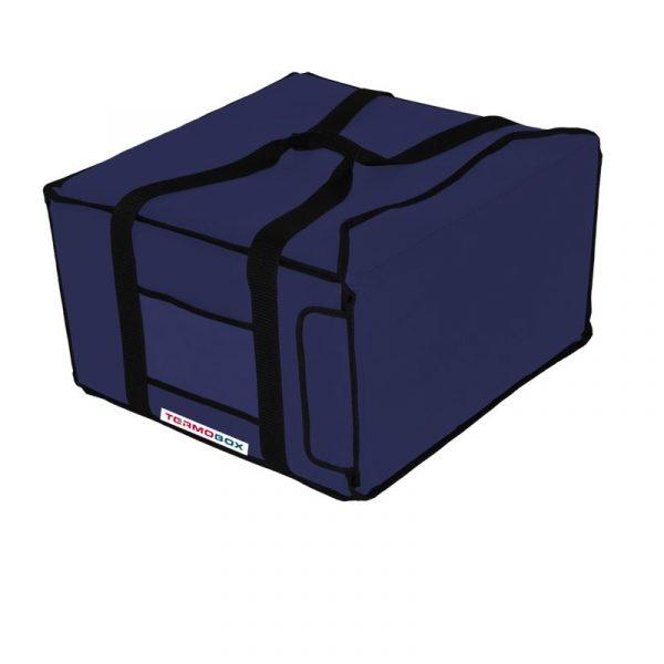 Pizza taška 45x45x25 cm nevyhřívaná modrá