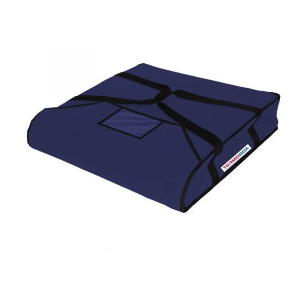 Pizza taška 50x50x12 cm nevyhřívaná modrá