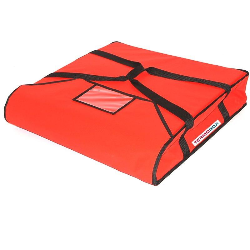 Pizza taška 60x60x12 cm nevyhřívaná červená